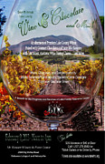 Vineyards Mixed Media - Through the Looking Glass Event Poster by Gail Salituri