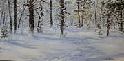 Ken Ahlering - Through the snowy woods