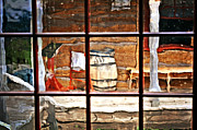 Marty Koch  Metal Prints - Through The Window Metal Print by Marty Koch