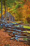 Autumn In New England Prints - Through Time Print by Joann Vitali