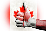 Anthony Morgan - Thumbs up for Canada