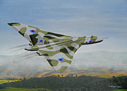 Vulcan Paintings - Thunder in the valleys by David Wright
