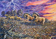 Gail Butler Art - Thunder Is Heard by Gail Butler
