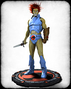 Thundercats Metal Prints - Thundercats 3000 - Lion-O v1 Metal Print by Frederico Borges