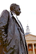 Thurgood Prints - Thurgood Marshall Print by Sheryl Bergman