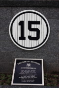 Yanks Posters - Thurman Munson Poster by Andrew Romer