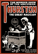 Harry Houdini Photos - Thurston and The Wonder Show by The  Vault - Jennifer Rondinelli Reilly