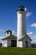Roof Digital Art Prints - Tibbetts Point Lighthouse Print by Ben and Raisa Gertsberg