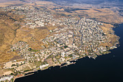 City Center Photos - Tiberias, Sea Of Galilee by Ofir Ben Tov