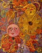Complicated Paintings - Tic Toc by Jane Chesnut