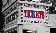 Flashing Photo Prints - Ticket Booth Print by Cheryl Young