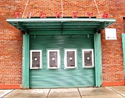Red Sox Metal Prints - Ticket Booth  Metal Print by Michelle Wiltz