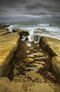 Waterfalls Posters - Tidepool Falls Poster by Peter Tellone