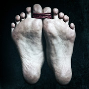 Bare Feet Photos - Tied Big Toes by Joana Kruse