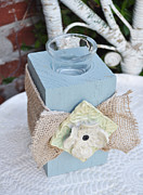 Shabby Chic Ceramics Prints - Tied Up Print by Amanda  Sanford