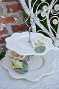 White Flower Ceramics - Tiered Up by Amanda  Sanford