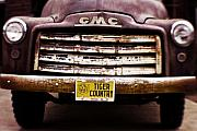 Gmc Photo Posters - Tiger Country - Purple and Old Poster by Scott Pellegrin