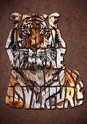Georgeta Blanaru - Tiger Majesty Typography...