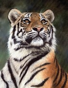 Rachel Stribbling - Tiger Painting