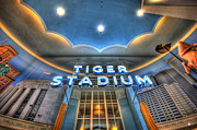 Nba Framed Prints - Tiger Stadium Framed Print by Nicholas  Grunas