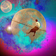 GANECH Graphics - tightrope walker in Space