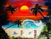 Amy LeVine - Tiki Art Paradise
