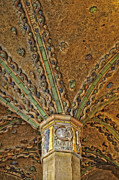 Byzantine Photo Metal Prints - Tile Work Metal Print by Susan Candelario