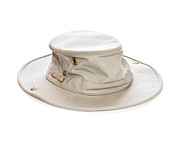 Apparel Metal Prints - Tilley Hat Metal Print by Colin and Linda McKie