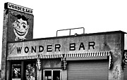 Asbury Park Jersey Shore Architecture Posters - Tillie at the Wonder Bar Poster by John Rizzuto