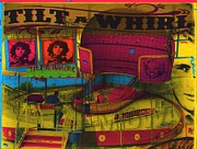 Fairs Paintings - Tilt-A-Whirl by Anthony Whelihan