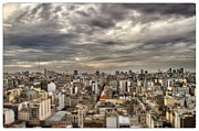 Buenos Aires Gifts Prints - Tilt Shift Buenos Aires Panorama Print by For Ninety One Days