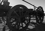 Horse And Cart Photo Metal Prints - Timber Cart Metal Print by Heather Provan