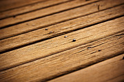 Backboard Prints - Timber Decking Print by Tim Hester