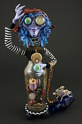 Featured Sculptures - Time Collector by Judy Henninger