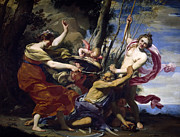 Famous Artists - Time defeated by Hope Love and Beauty by Simon Vouet