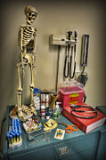 Neurosurgeon Framed Prints - Time for a Checkup - Doctor Framed Print by Lee Dos Santos