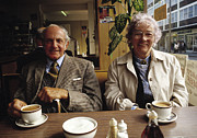 Cup Of Tea Photos - Time for a cuppa UK 1980s by David Davies