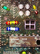 Circuitry Prints - Time For An Iphone Upgrade 20130716 Print by Wingsdomain Art and Photography