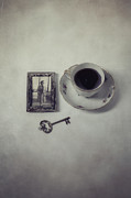 Photography Of Woman Prints - Time For Coffee Print by Joana Kruse
