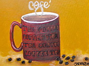 Time For Coffee Print by Melissa Torres