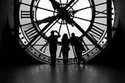 Museum Orsay Clock Posters - Time for Tourists Poster by Kalevi Tamm