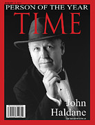 Magazine Cover Digital Art - Time Person of the Year by John Haldane