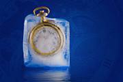 Pocket Watch Glass Acrylic Prints - Time Stands Still Acrylic Print by Tom Mc Nemar