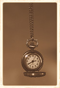 Antique. Jewelry Metal Prints - Time Metal Print by Stephanie Hollingsworth