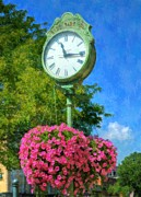 Hanging Baskets Prints - Time Stood Still 2 Print by Mel Steinhauer