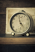 Clock Hands Photo Framed Prints - Time Stood Still Framed Print by Amy Weiss