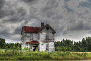 Rusted Tin Roof Photos - Time Stood Still by Benanne Stiens
