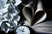 Books Photos - Time To Love  by Madis Me