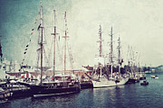 Tall Ships Prints - Time To Set Sail Print by Joel Witmeyer