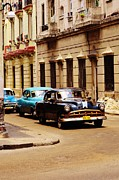 Cars Digital Art - Time Travel Cuba by David Coomber